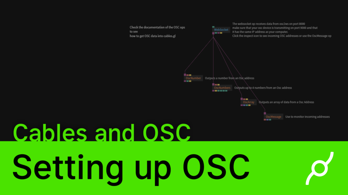 OSC and cables