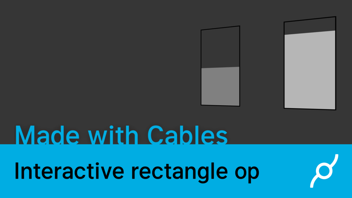 Interactive rectangle op tutorial