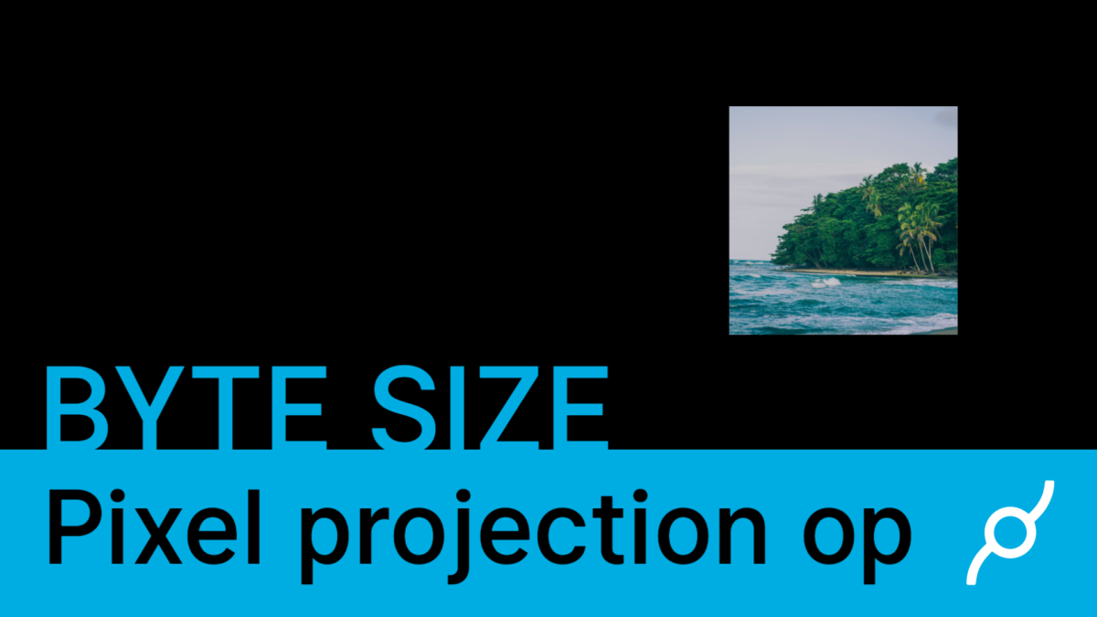 Pixel projection op – Byte size