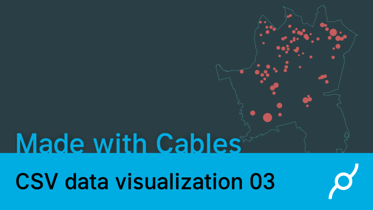 CSV data visualization tutorial 03