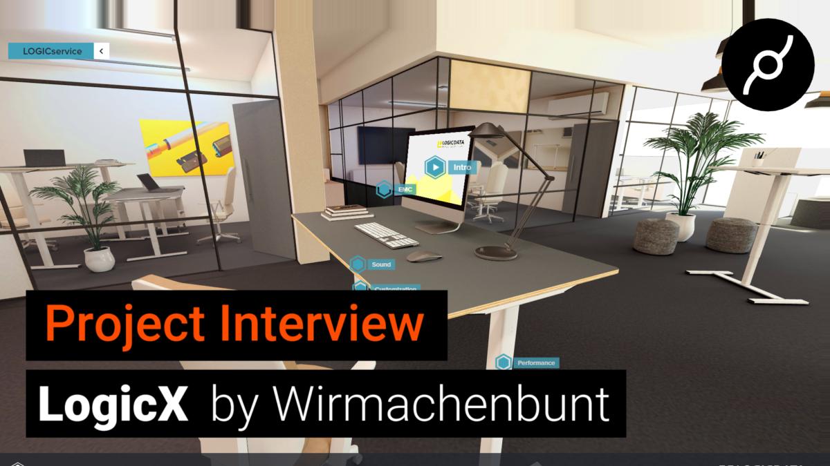 LogicX Virtual Showroom 2021 by Wirmachenbunt